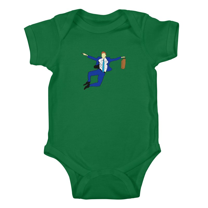 Happy Monday Kids Baby Bodysuit by SuperOpt Shop
