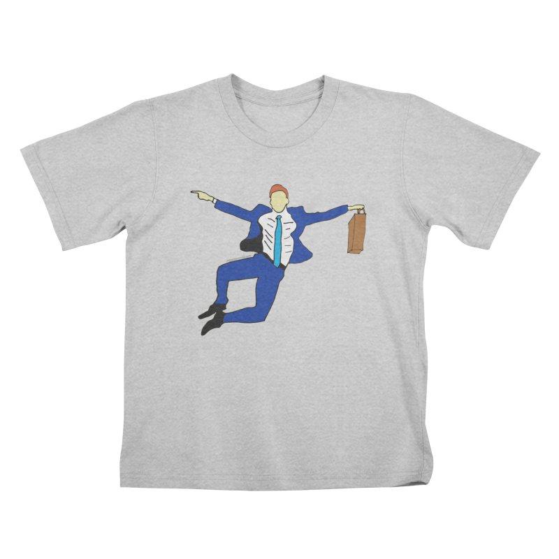 Happy Monday Kids T-Shirt by SuperOpt Shop