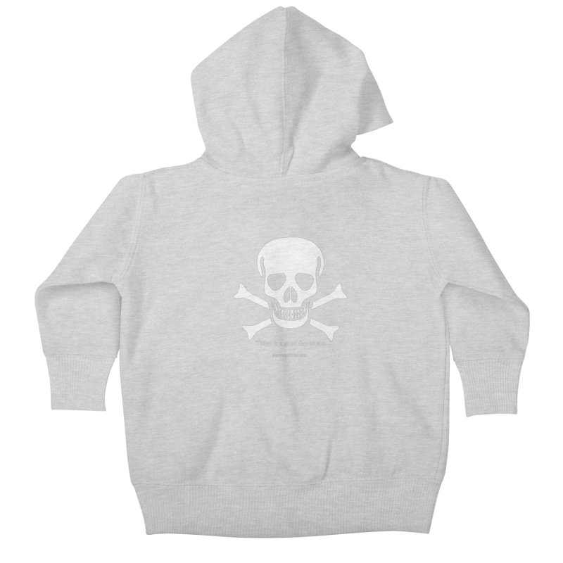 Today's the day Kids Baby Zip-Up Hoody by SuperOpt Shop