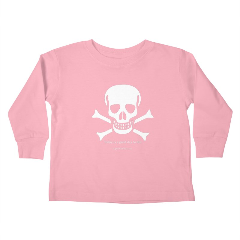 Today's the day Kids Toddler Longsleeve T-Shirt by SuperOpt Shop