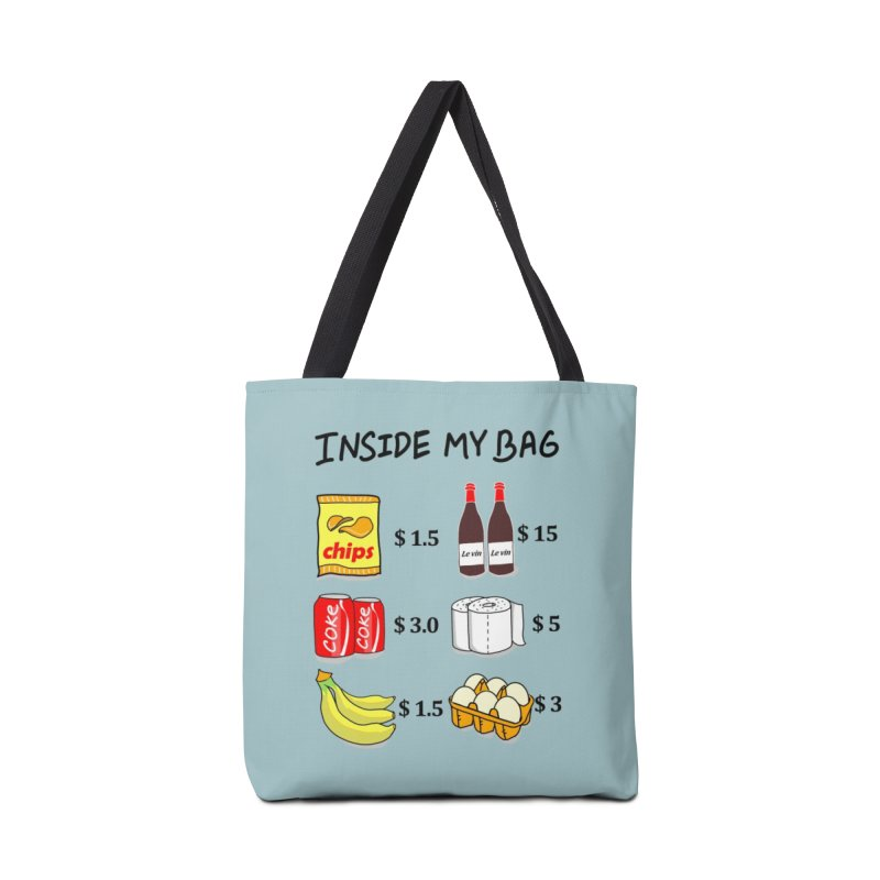 Inside My Bag Accessories Bag by superskinbaby's Artist Shop