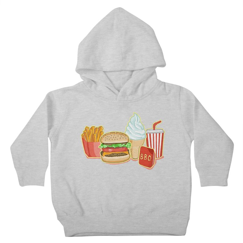My Kind of Food Kids Toddler Pullover Hoody by superskinbaby's Artist Shop