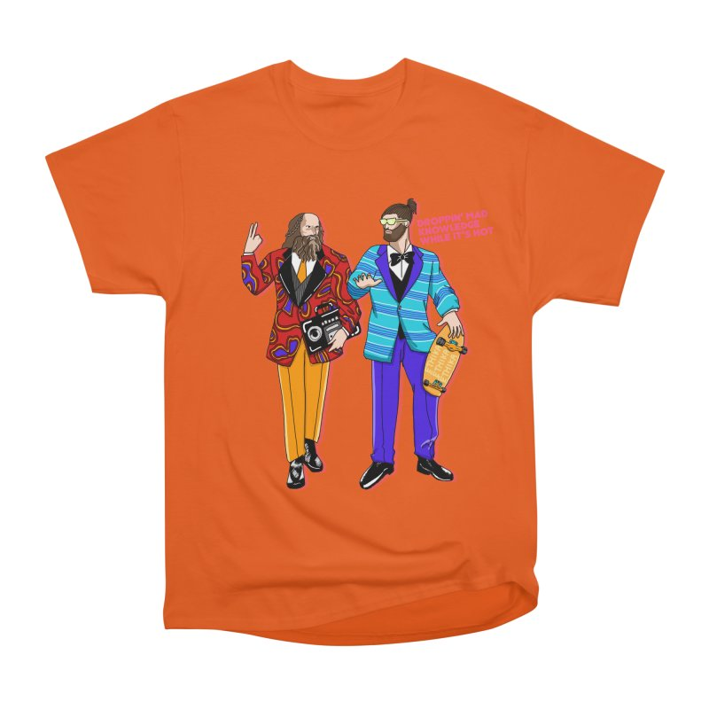 Aristotle and Plato Men's T-Shirt by superskinbaby's Artist Shop
