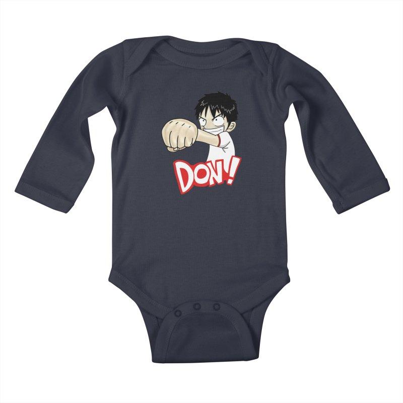 Luffy Don! (big) Kids Baby Longsleeve Bodysuit by superskinbaby's Artist Shop