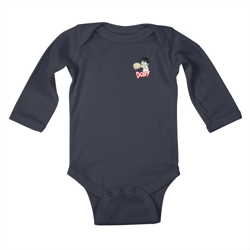 Luffy Don! (small) Kids Baby Longsleeve Bodysuit by superskinbaby's Artist Shop