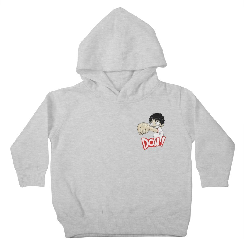 Luffy Don! (small) Kids Toddler Pullover Hoody by superskinbaby's Artist Shop