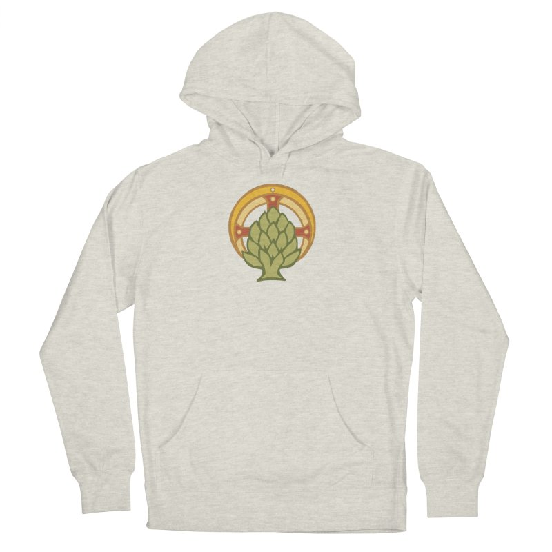Holy Artichoke Men's French Terry Pullover Hoody by Supersticery Shop