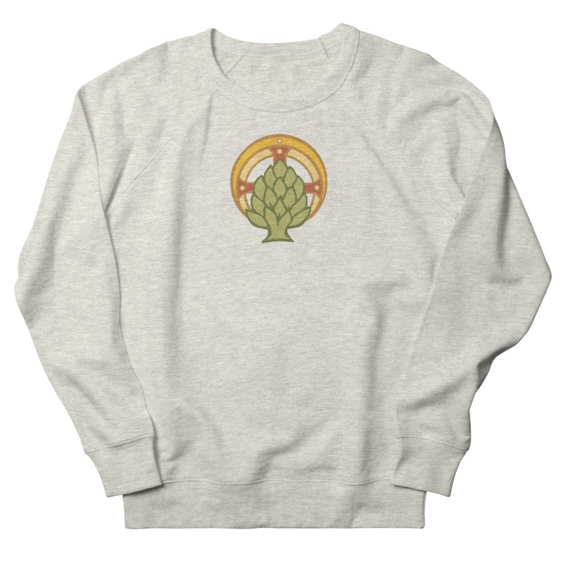 Holy Artichoke Women's French Terry Sweatshirt by Supersticery Shop