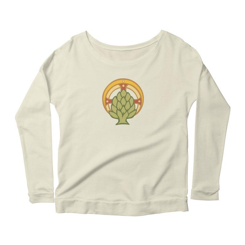 Holy Artichoke Women's Scoop Neck Longsleeve T-Shirt by Supersticery Shop