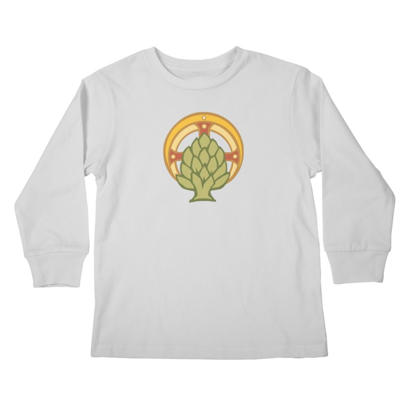 Holy Artichoke Kids Longsleeve T-Shirt by Supersticery Shop