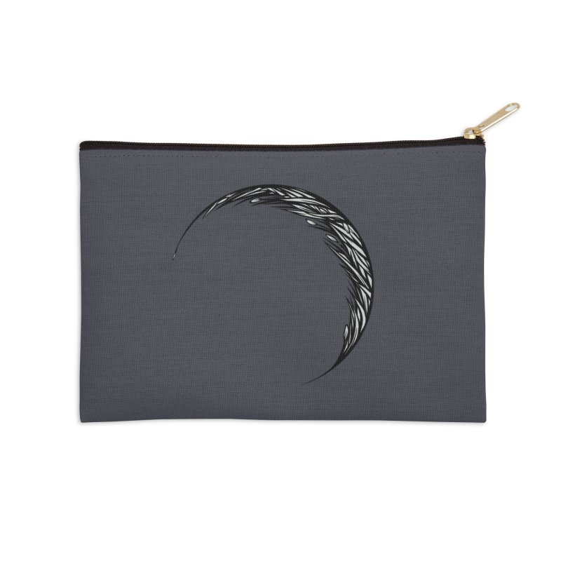 the Hollow Accessories Zip Pouch by Supersticery Shop