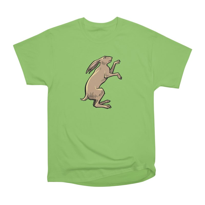 the Hare Women's Heavyweight Unisex T-Shirt by Supersticery Shop