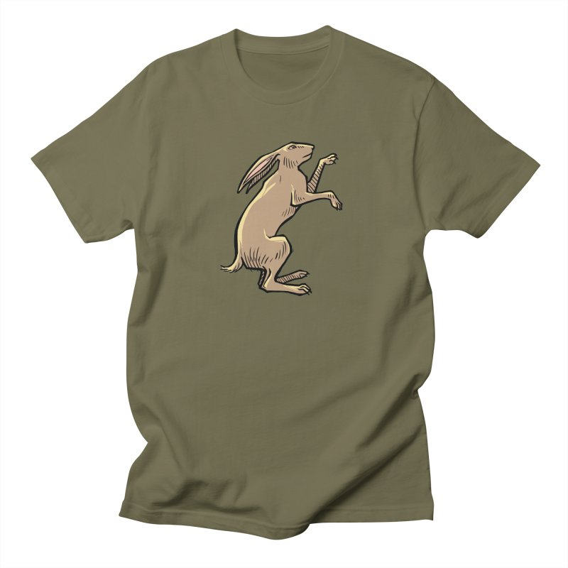 the Hare Women's Regular Unisex T-Shirt by Supersticery Shop