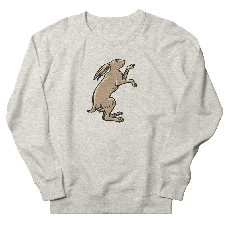the Hare Women's French Terry Sweatshirt by Supersticery Shop