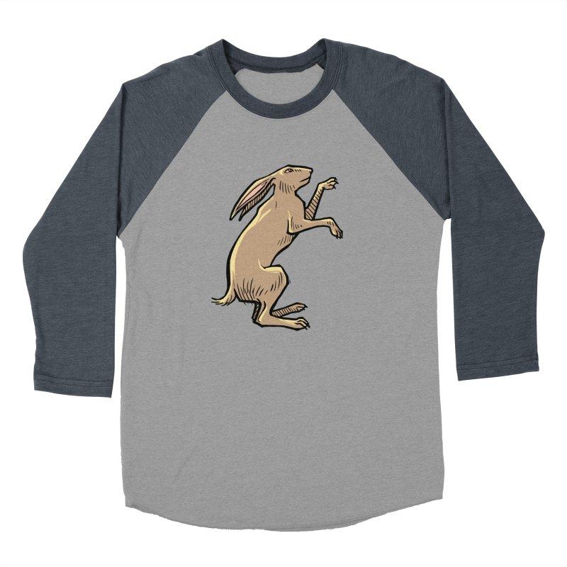 the Hare Women's Baseball Triblend Longsleeve T-Shirt by Supersticery Shop
