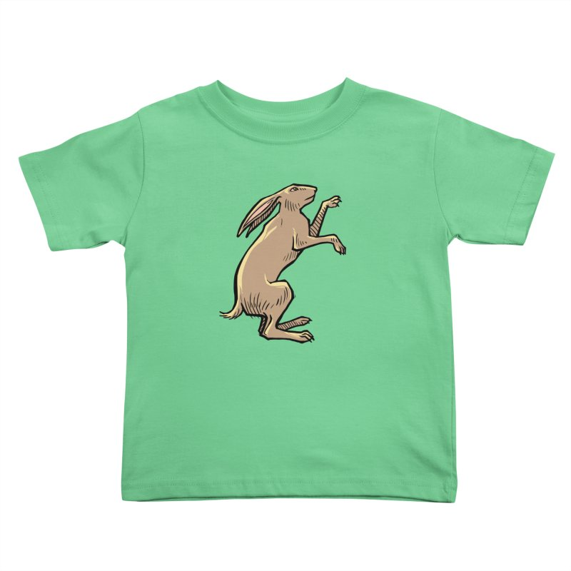 the Hare Kids Toddler T-Shirt by Supersticery Shop