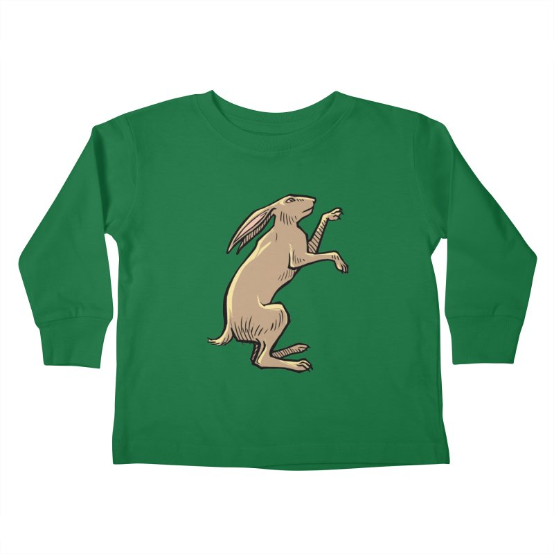 the Hare Kids Toddler Longsleeve T-Shirt by Supersticery Shop
