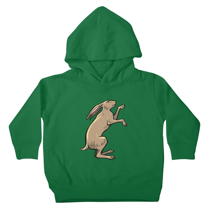 the Hare Kids Toddler Pullover Hoody by Supersticery Shop