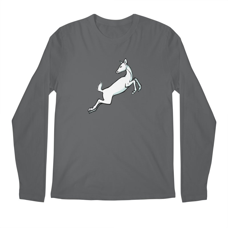 the Hind Men's Regular Longsleeve T-Shirt by Supersticery Shop