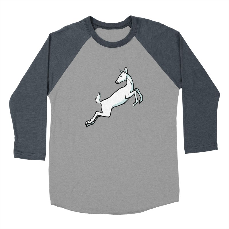 the Hind Men's Baseball Triblend Longsleeve T-Shirt by Supersticery Shop