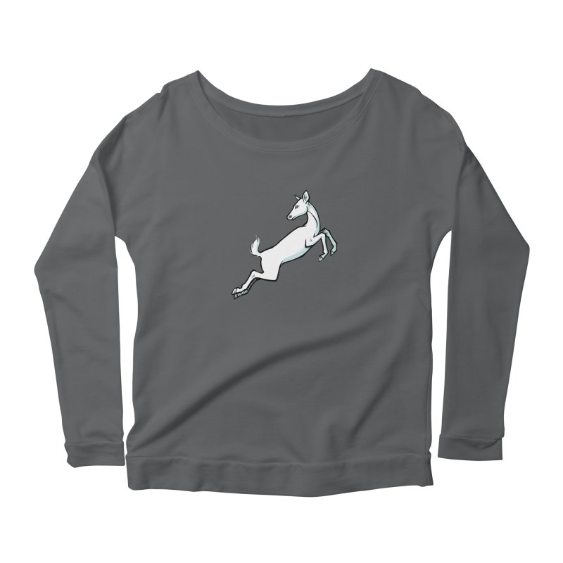 the Hind Women's Longsleeve Scoopneck  by Supersticery Shop