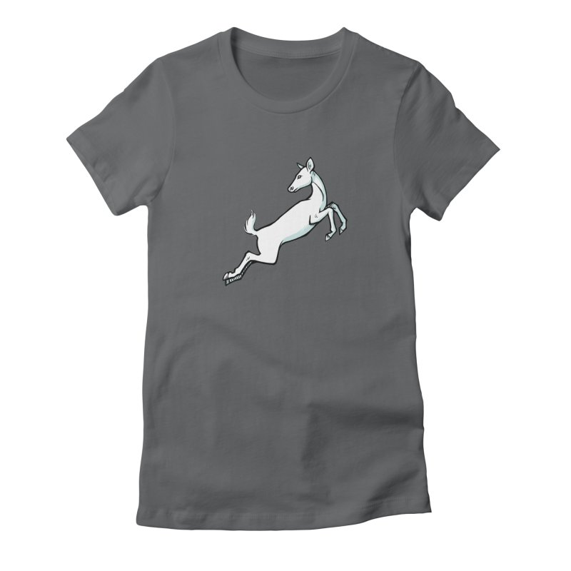 the Hind Women's Fitted T-Shirt by Supersticery Shop