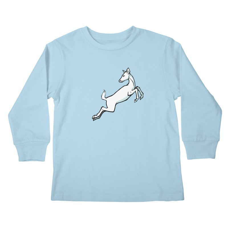 the Hind Kids Longsleeve T-Shirt by Supersticery Shop