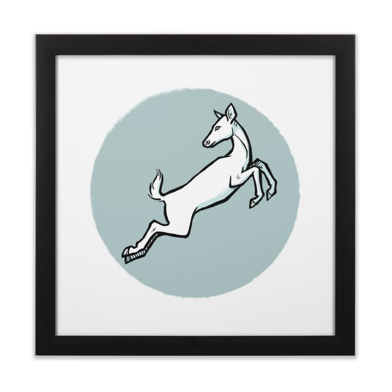 the Hind Home Framed Fine Art Print by Supersticery Shop