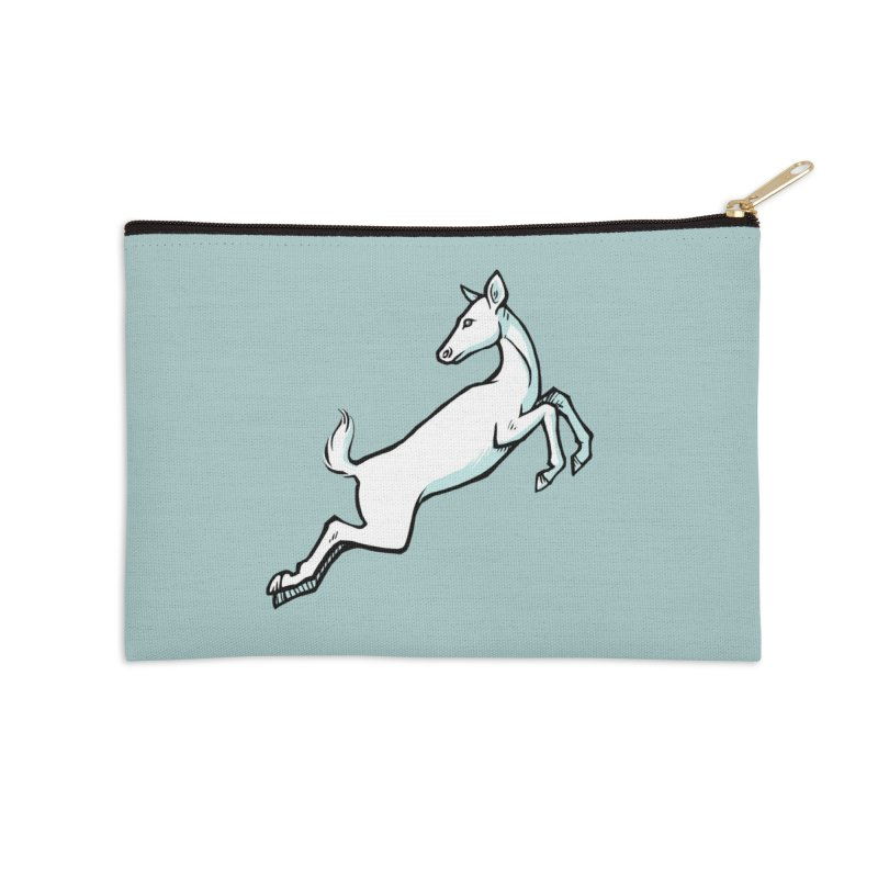 the Hind Accessories Zip Pouch by Supersticery Shop