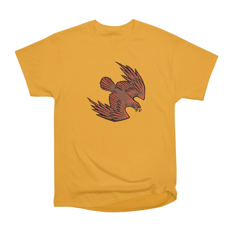 the Hawk Women's Heavyweight Unisex T-Shirt by Supersticery Shop
