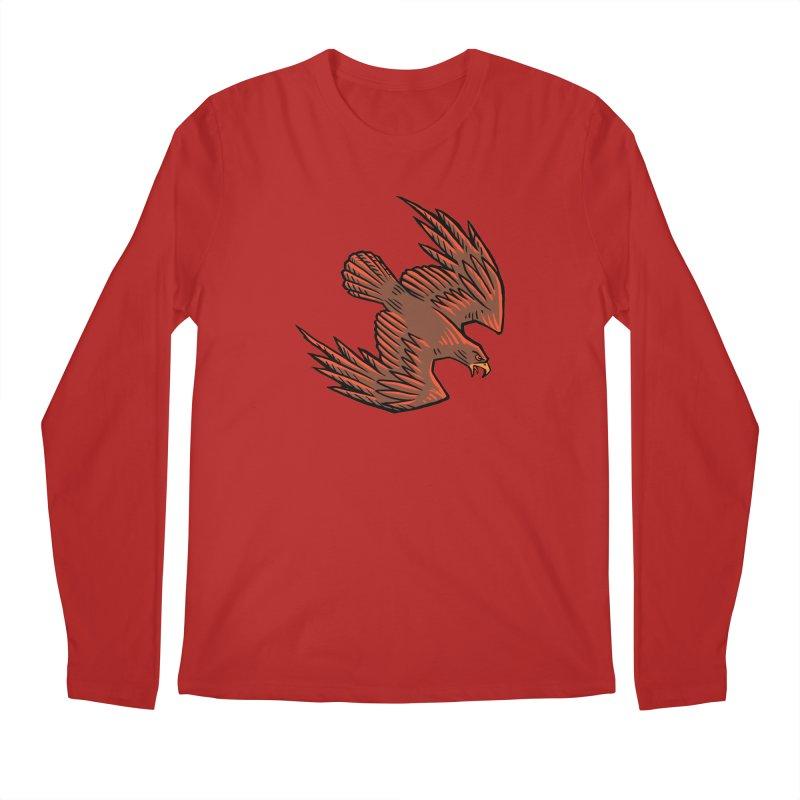 the Hawk Men's Longsleeve T-Shirt by Supersticery Shop