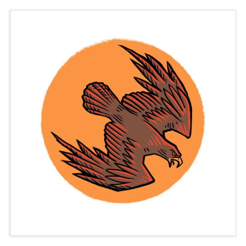 the Hawk Home Fine Art Print by Supersticery Shop