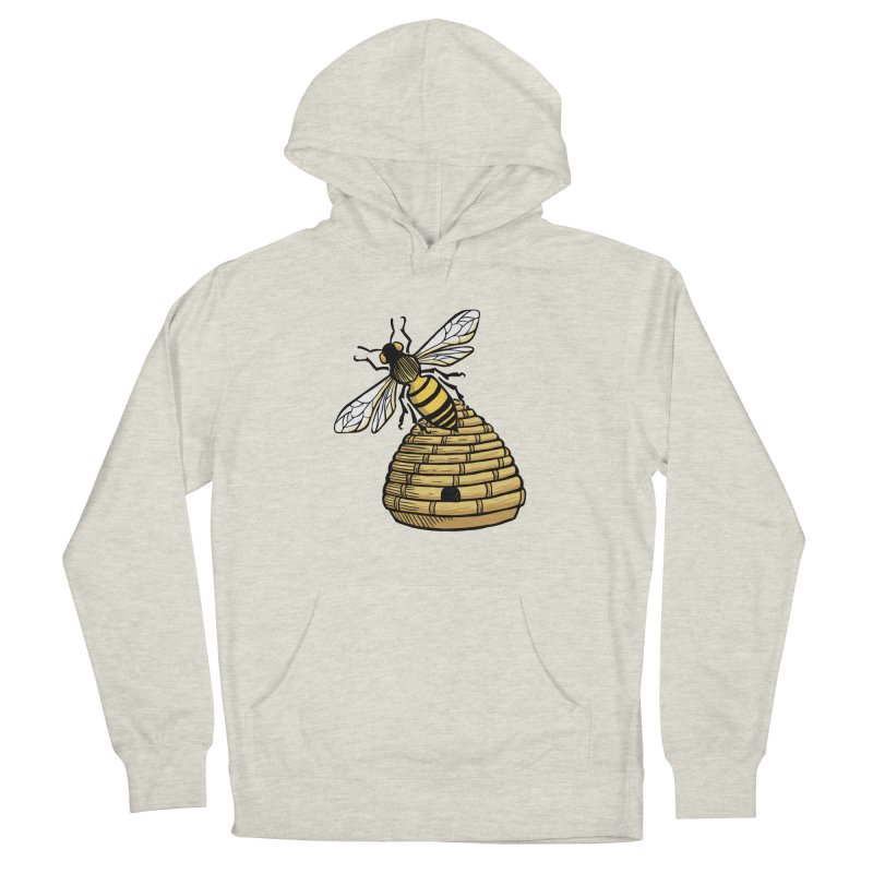 the Hive Women's French Terry Pullover Hoody by Supersticery Shop