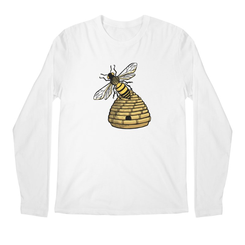 the Hive Men's Regular Longsleeve T-Shirt by Supersticery Shop