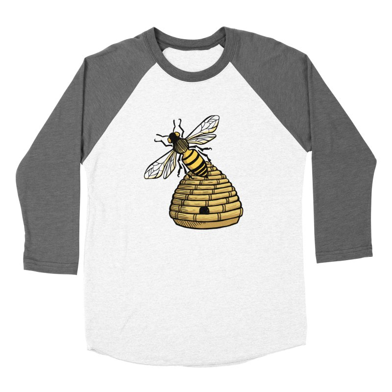 the Hive Men's Baseball Triblend T-Shirt by Supersticery Shop