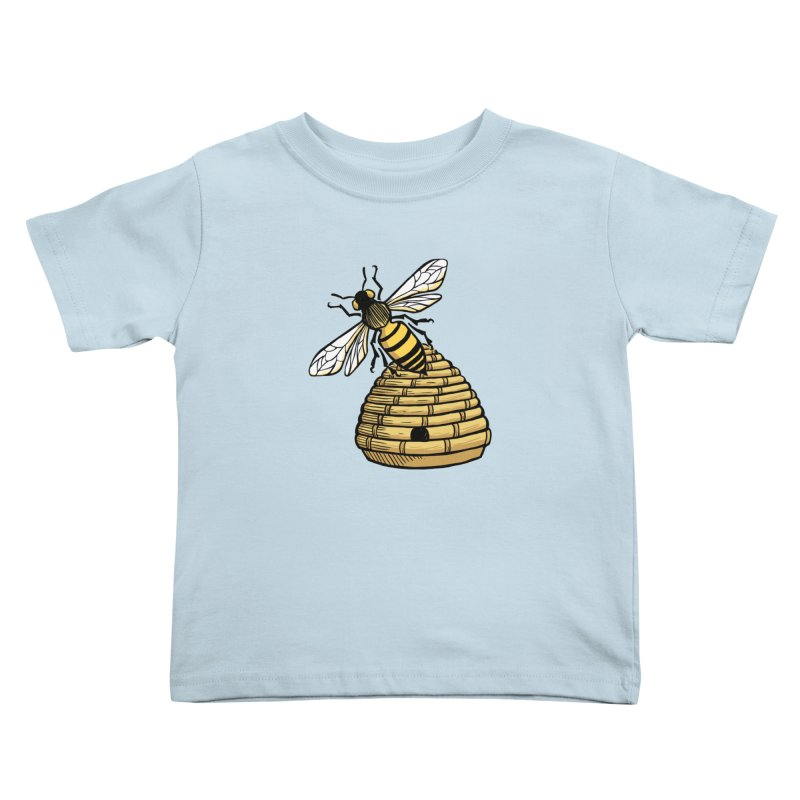 the Hive Kids Toddler T-Shirt by Supersticery Shop