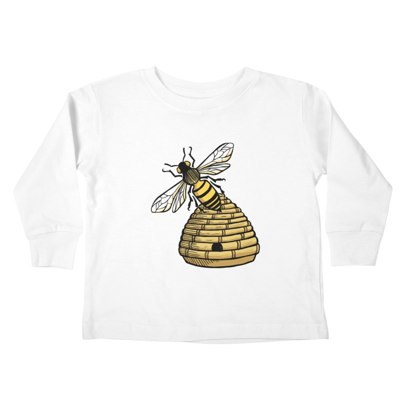 the Hive Kids Toddler Longsleeve T-Shirt by Supersticery Shop