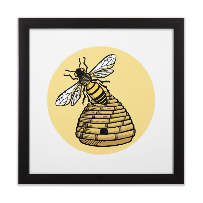 the Hive Home Framed Fine Art Print by Supersticery Shop