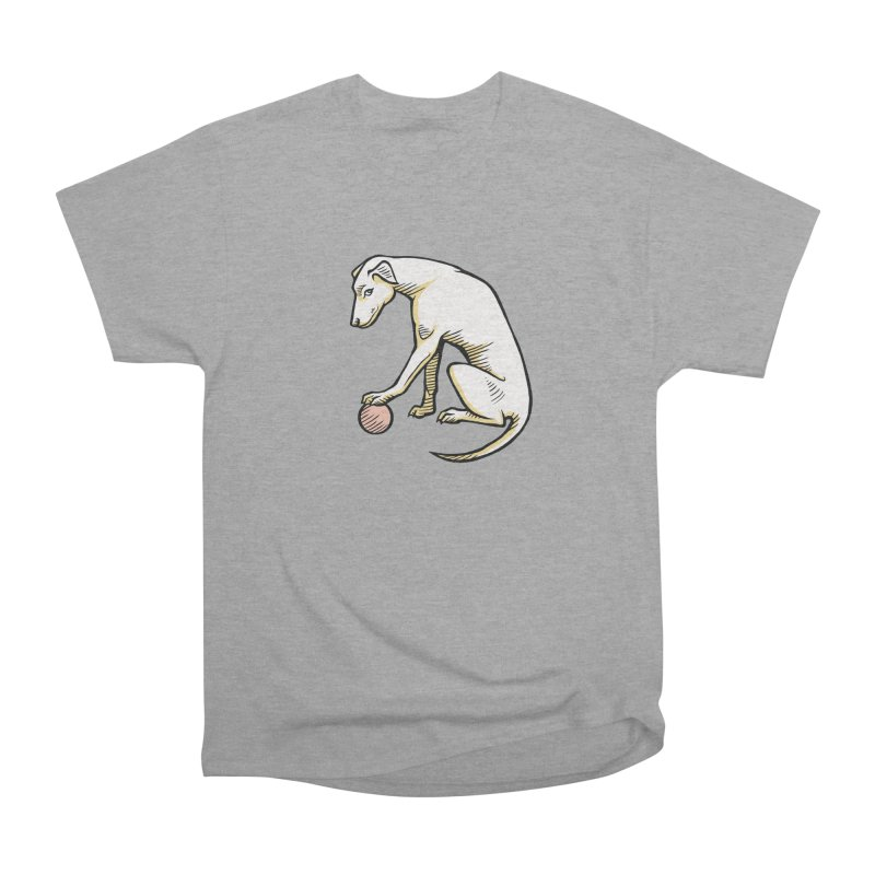the Hound Men's Heavyweight T-Shirt by Supersticery Shop
