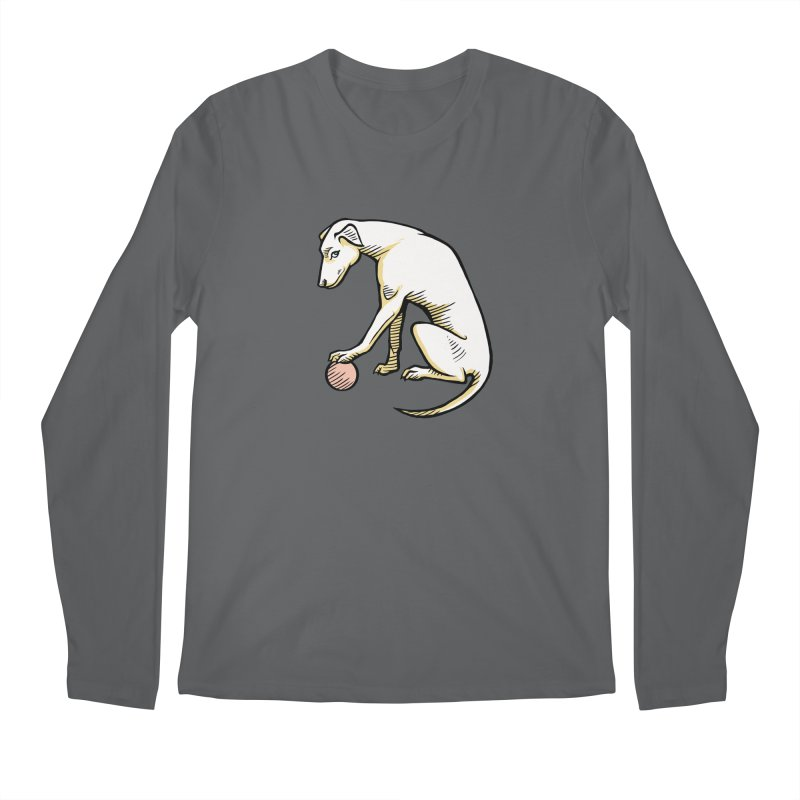 the Hound Men's Regular Longsleeve T-Shirt by Supersticery Shop