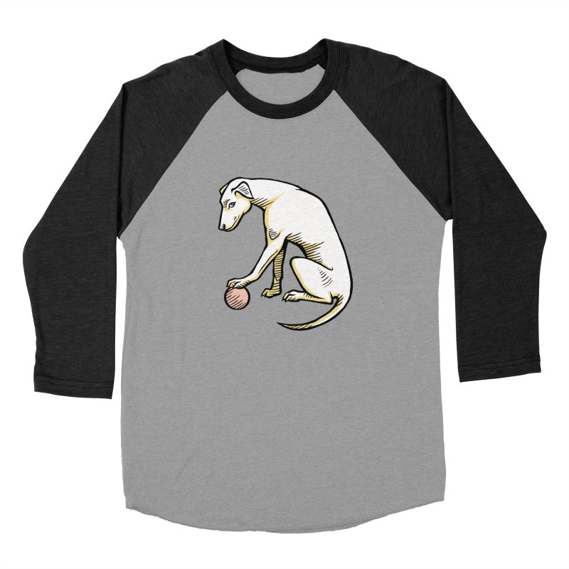 the Hound Women's Baseball Triblend Longsleeve T-Shirt by Supersticery Shop
