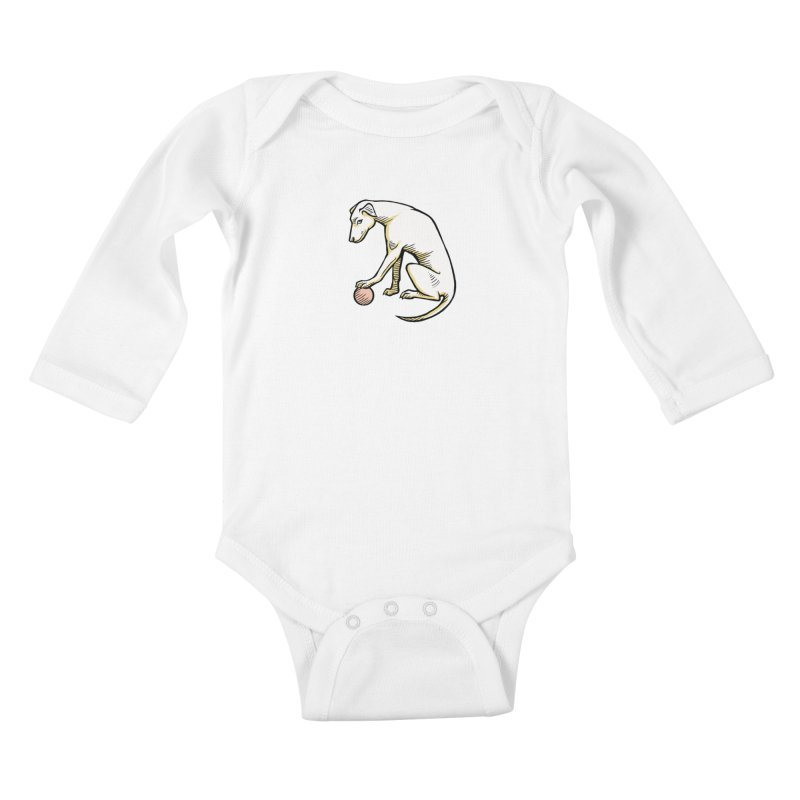 the Hound Kids Baby Longsleeve Bodysuit by Supersticery Shop