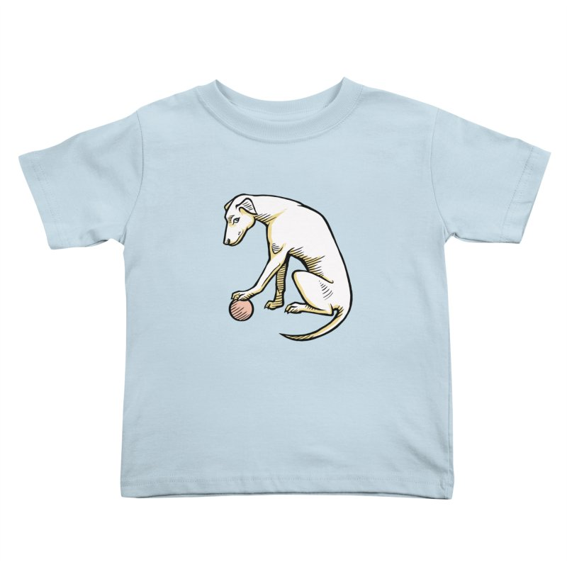 the Hound Kids Toddler T-Shirt by Supersticery Shop