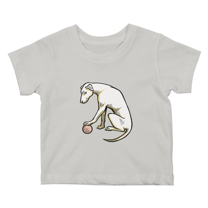 the Hound Kids Baby T-Shirt by Supersticery Shop