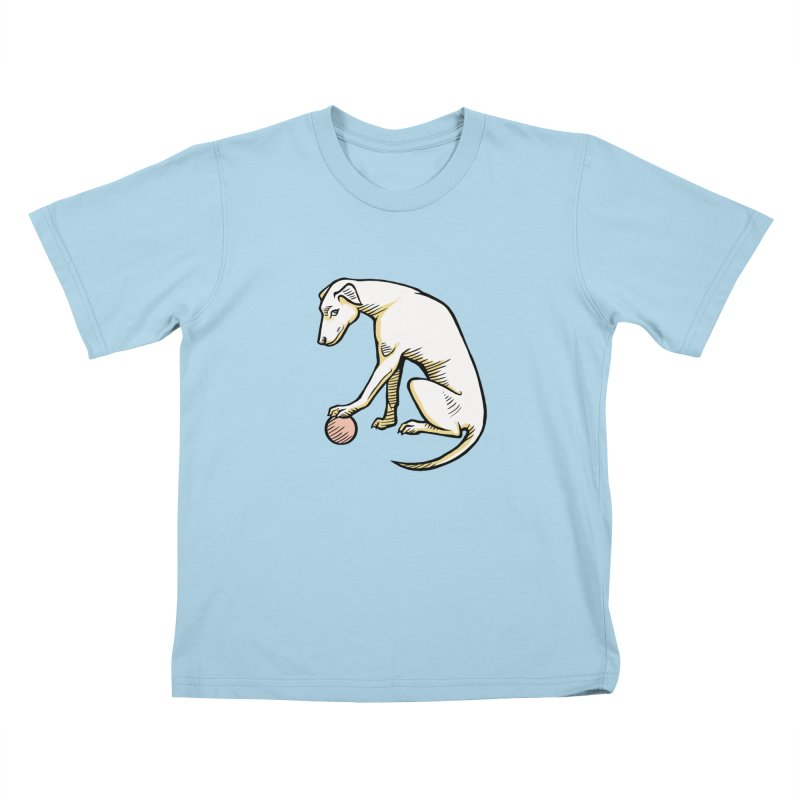 the Hound Kids T-Shirt by Supersticery Shop