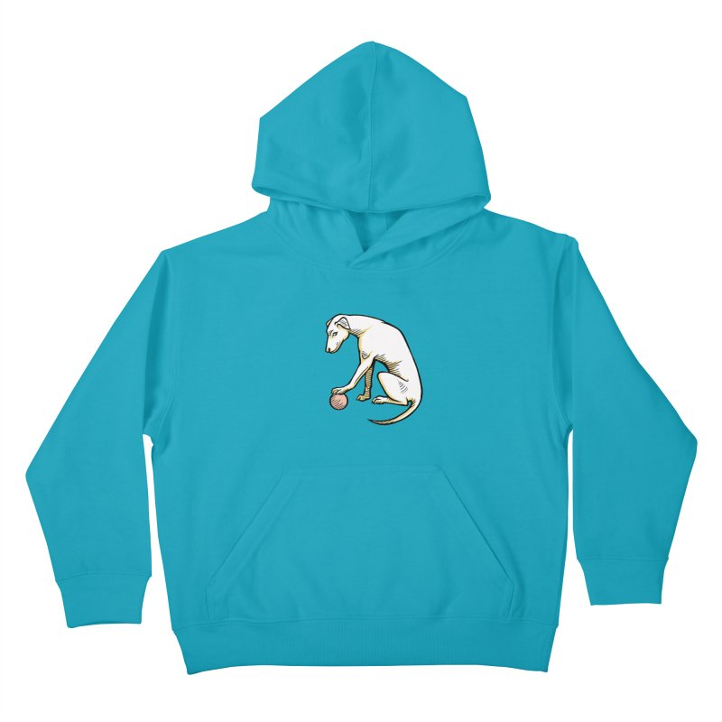 the Hound Kids Pullover Hoody by Supersticery Shop