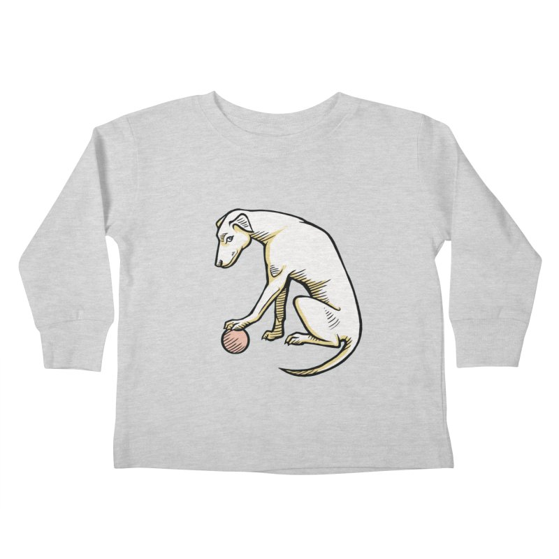 the Hound Kids Toddler Longsleeve T-Shirt by Supersticery Shop