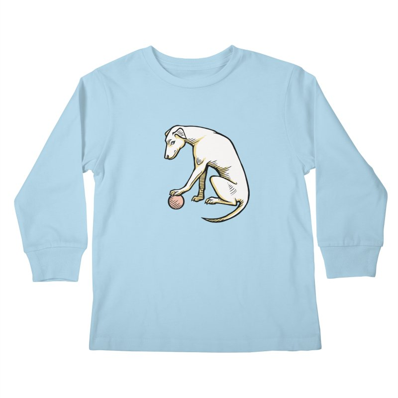 the Hound Kids Longsleeve T-Shirt by Supersticery Shop