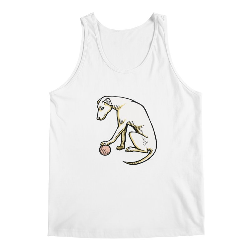 the Hound Men's Regular Tank by Supersticery Shop
