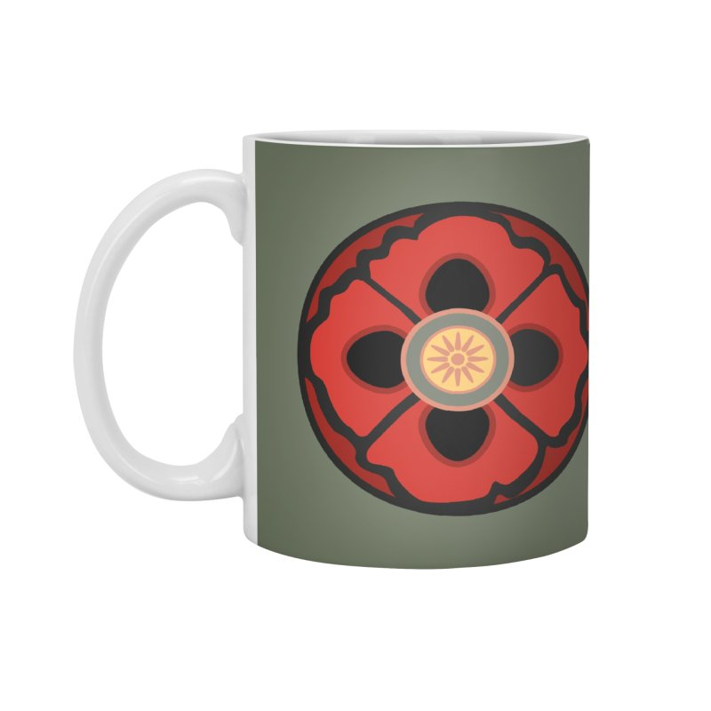 Iconic Poppy Accessories Standard Mug by Supersticery Shop